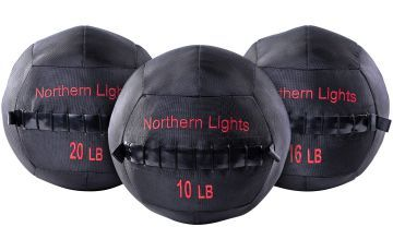 NL Wall Ball Ballistic Nylon,20 lb