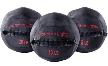 NL Wall Ball Ballistic Nylon,16 lb