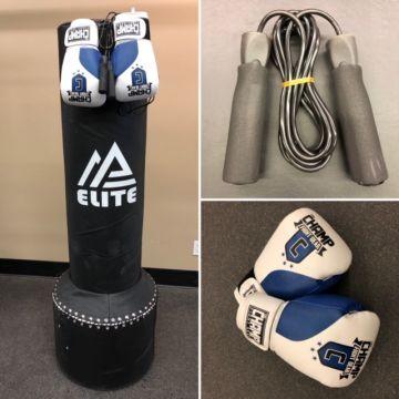 Amber Elite Freestanding Bag Bundle