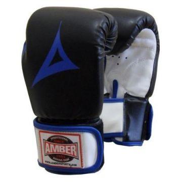 Amber Gel Aerobic Boxing Gloves BLK SM