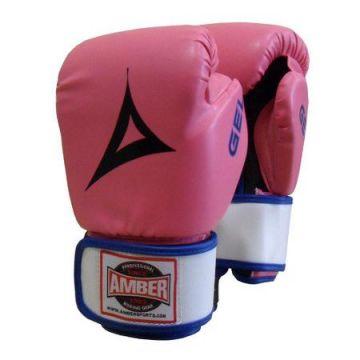 Amber Gel Aerobic Boxing Gloves PNK SM