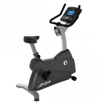 Life Fitness C1 Upright Bike w/Go Console