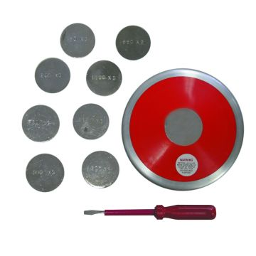 Amber Athletic Gear Training Discus 1.400 – 1.800Kg