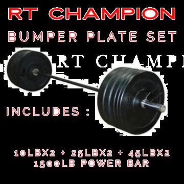 RT Champion Bumper Plate Set