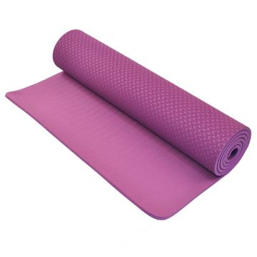NL TPE Yoga Mat,8mm, Purple