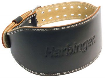"""Harbinger 6"""" Padded Leather Belt Small"""