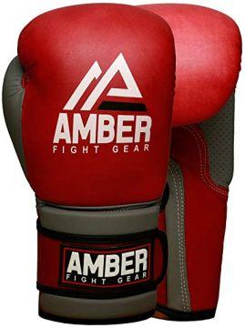 Amber Vintage Boxing Gloves 16oz
