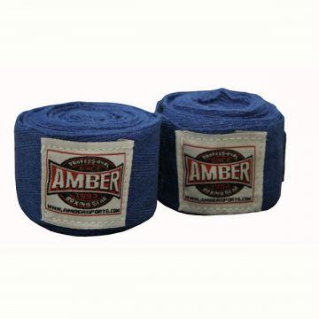 Amber Stretch Handwraps Blue Pr.