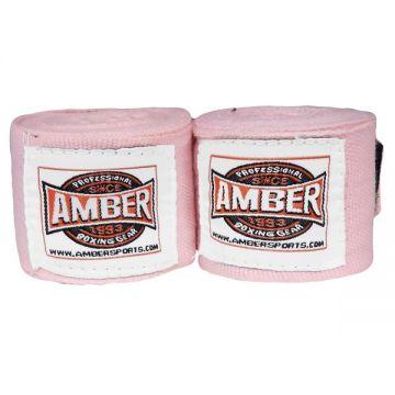 Amber Stretch Handwraps Pink Pr.