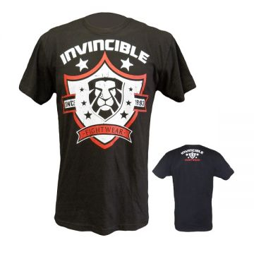 Amber Invincible Mens Tee Black MED