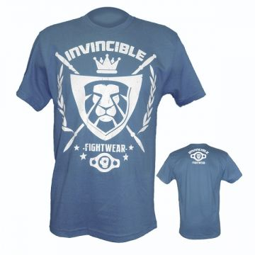 Amber Invincible Mens Tee Indigo LG