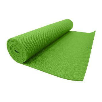 Zen Ekko Yoga Mat 6mm Green