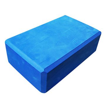 Zen Foam Yoga Block Blue