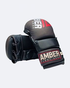 Amber Contender Hybrid Grappling Gloves  S/M