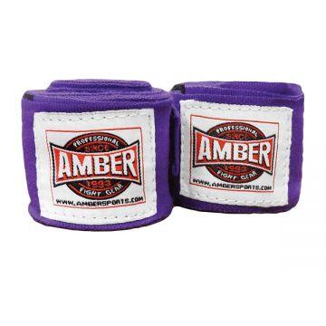 Amber Stretch Handwraps Purple Pr.