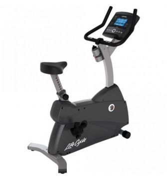 Life Fitness C1 Upright Bike w/Go Console