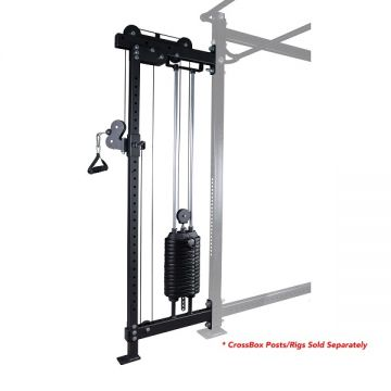 NL CrossBox Single FT Hi/Lo Single Pulley Weight Stack Attachment,150lb