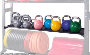 NL CrossBox StorageRack Kettlebell Shelf 70""