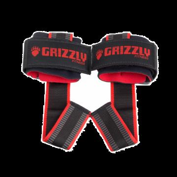 Grizzly Super Grip Lifting Straps w/wrist wrap
