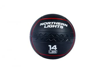 NL RoughNeck Rubber Wall Ball, 14 lb