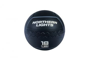 NL RoughNeck Rubber Wall Ball, 18 lb