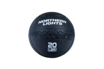 NL RoughNeck Rubber Wall Ball, 20 lb