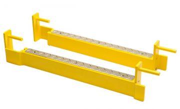 NL CrossBox BigBeam Safe Spotters - Yellow