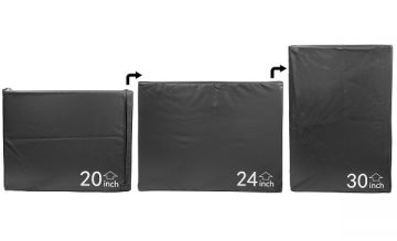 NL PlyoBox, Foam,30x24x20,Black