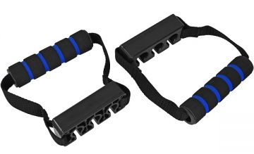 NL Fitness Cable Handle ,Triple Cable, Pair