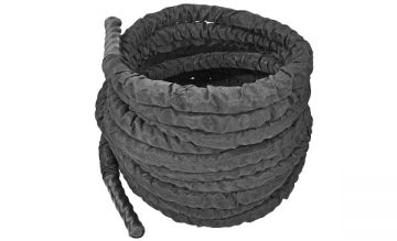 NL Covered Battle Rope, 1.5' x 50ft, Black