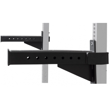 NL CrossBox Half Rack SafeSpotter Arms,Black