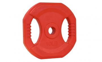 NL Cardio Pump Rubber Plate, 10lb, Red