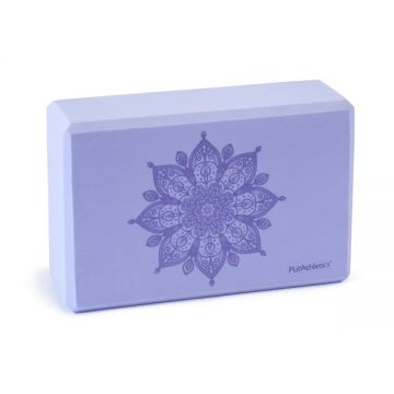 Zen Serenity Yoga Block Purple/Lavendar