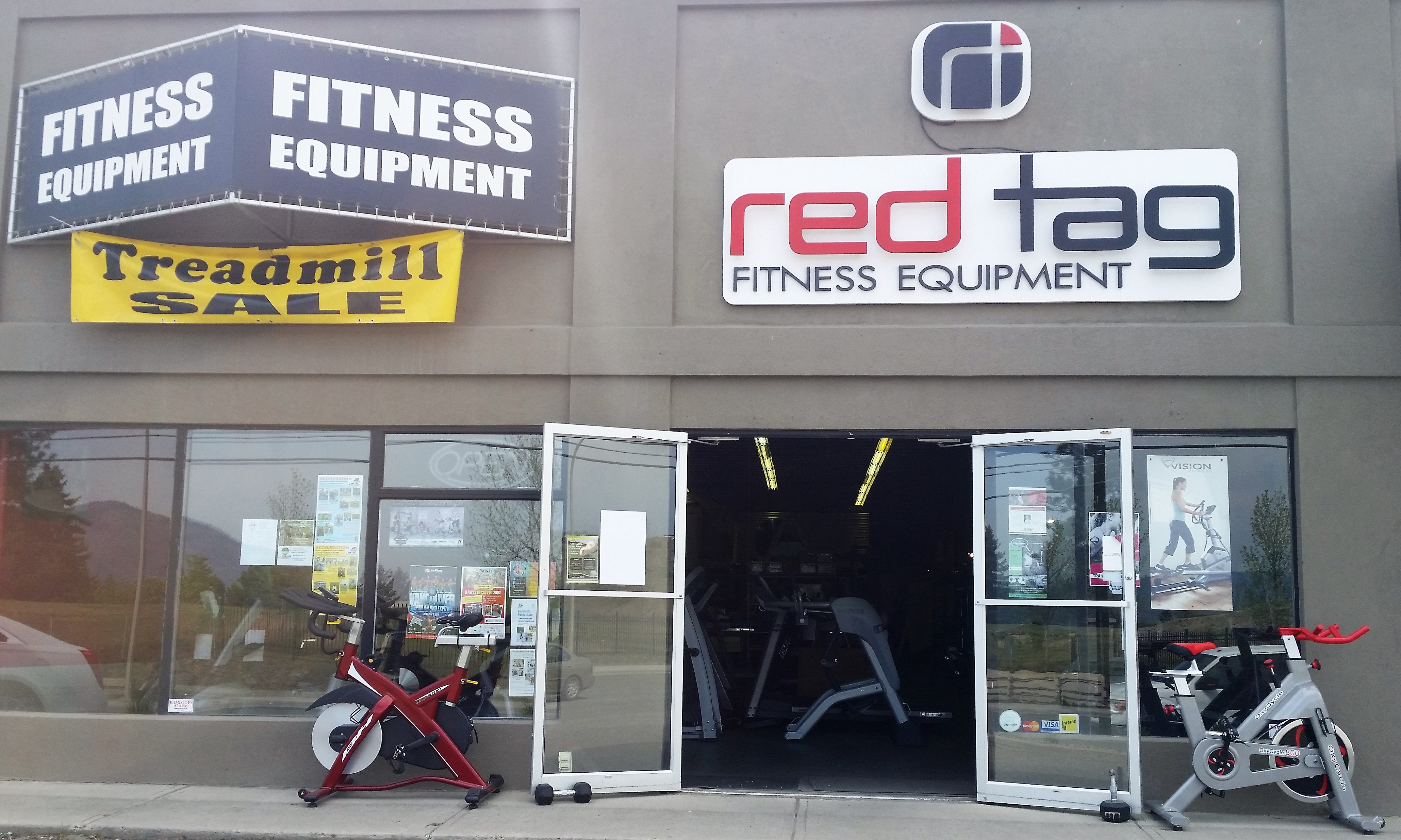 Red Tag Fitness storefront